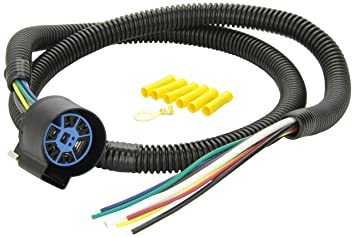 81KpxQaZMGL._SX355_ amazon com pollak 11 998 4' pigtail wiring harness automotive automotive wiring harnesses at eliteediting.co