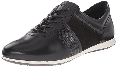 ecco Leisure Sneaker Low Damen Schwarz Schuhe Deutschland