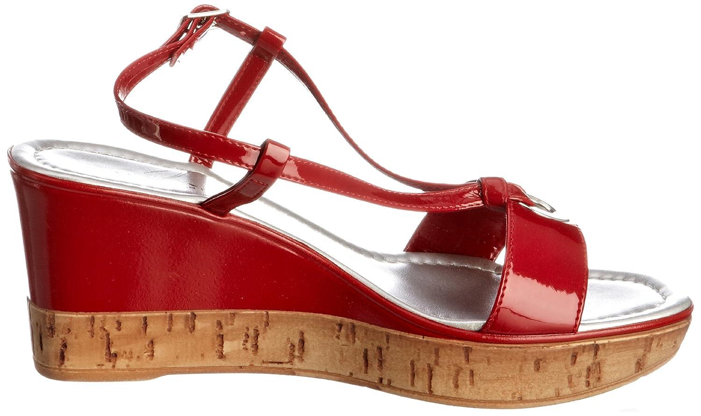 6a57630cc922 Lunar Women s Jlc375 Red Wedges Heels 6 UK