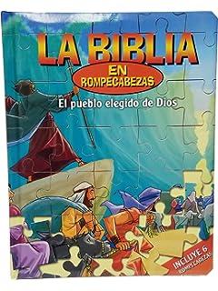 Los Elegidos de Dios Puzzles Rompecabezas Españoles Biblia-Niños Juegos-Samson-Diez Mandamientos