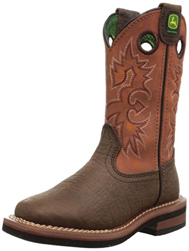 amazon com deere children pull on boot toddler kid