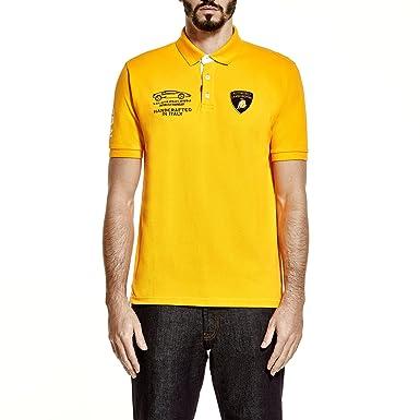 Automobili Lamborghini - Polo - para niño Amarillo amarillo ...