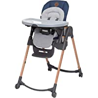 Maxi-Cosi 6-in-1 Minla High Chair, Metro-Essential Blue, One Size