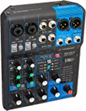 """Yamaha MG06X 6 Input Stereo Mixer (with SPX Effects) w/ Stereo 1/8"""" TRS to Dual 1/4"""" Breakout Cable and (1) 20' XLR Mic Cable"""