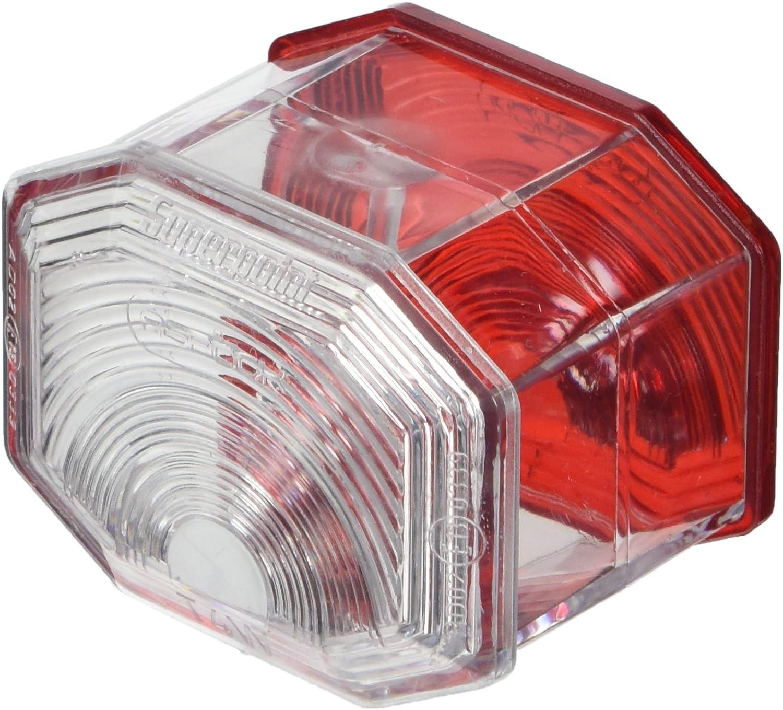 Jakoparts 82711132 Lichtscheibe Rot//Wei/ß