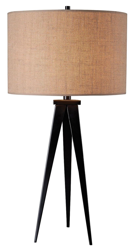Amazon.com: kenroy Home Foster lámpara de mesa, 32262ORB ...