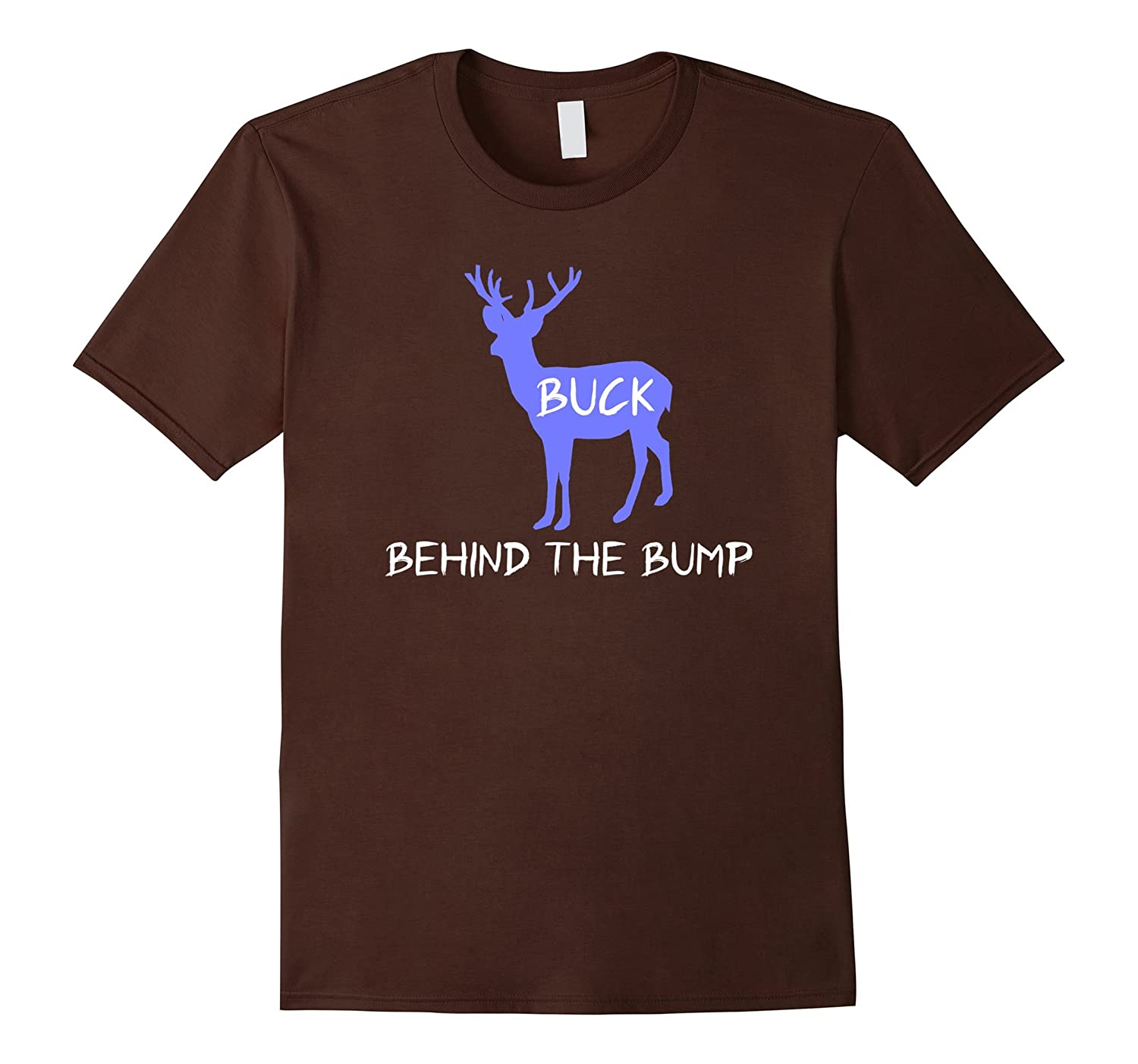 Buck Behind the Bump Dad to be gifts Shirt Pregnancy Reveal-ah my shirt one gift
