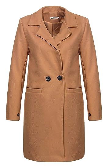 Malito Damen Kurzmantel | edle Jacke mit Knöpfen | schicke Übergangjacke | Jacke mit Taschen 19691