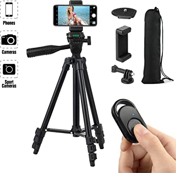 Pro Tripod Stand Mount Holder For Camera iPhone Samsung Phone Universal GoPro