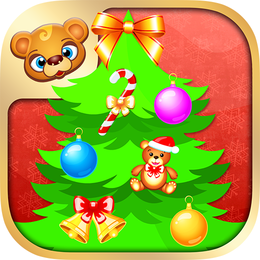 123 Kids Fun CHRISTMAS Tree - Creative Game for Toddlers and Preschoolers (Number By Tree Christmas Color)