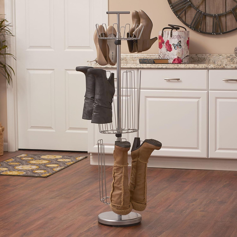 Household Essentials 2132 1 3 Tier Revolving Image 3