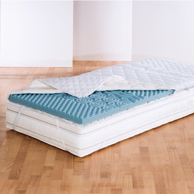 Matratze Zu Hart Auflage f a n medisan softly komfort kern 5 cm topper 7 zonen