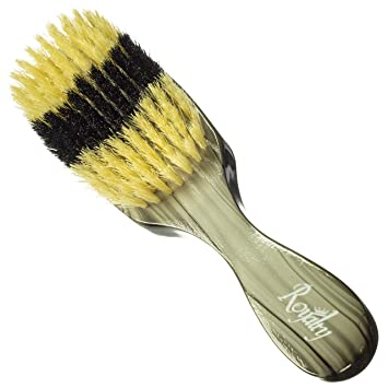 Royalty By Brush King Wave Brush #916-9 row Soft brush- Great 360 wave  brush - From the makers of