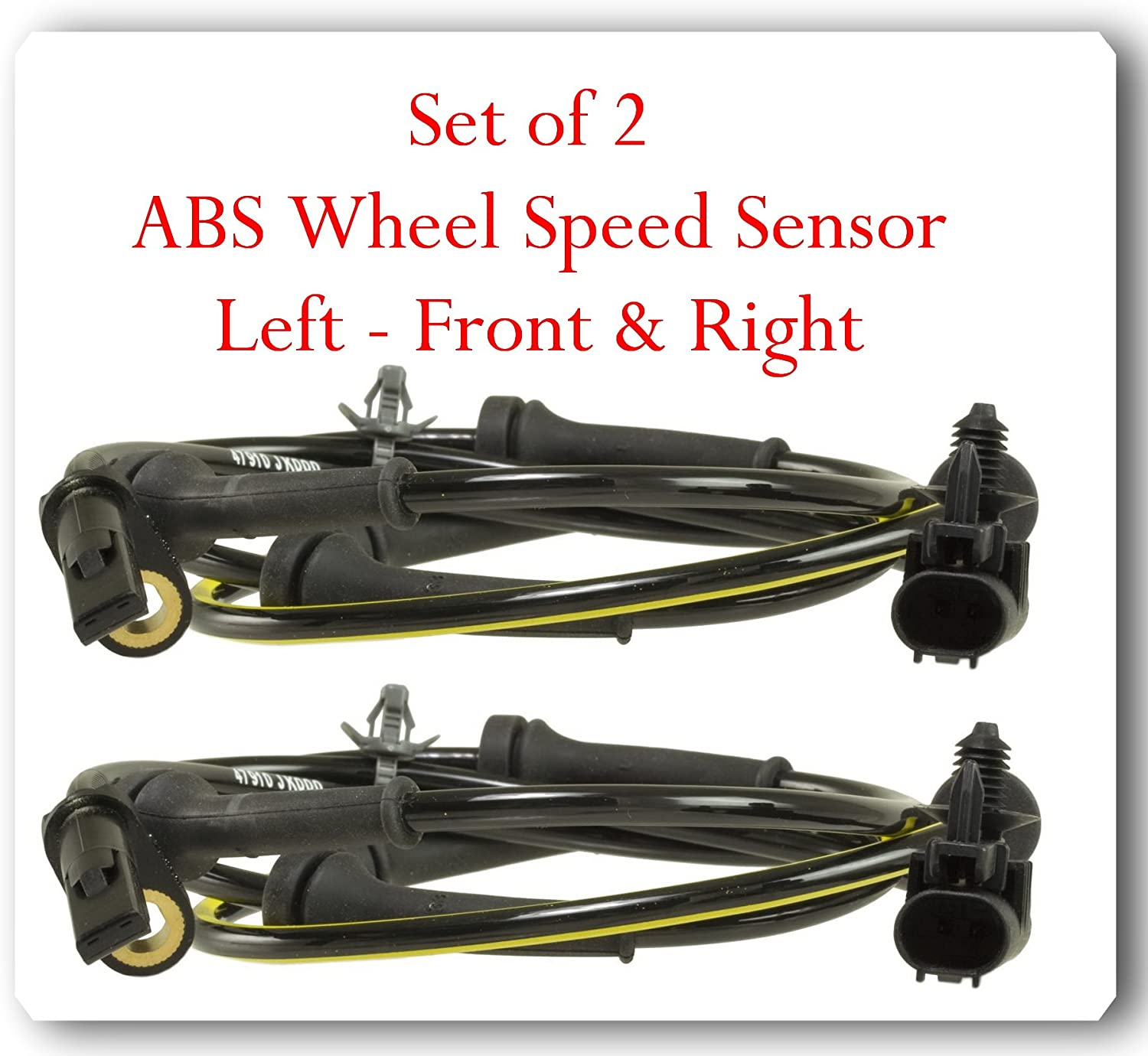 New ABS Wheel Speed Sensor fits Infiniti G25 G35 G37 RWD Front Left or Right