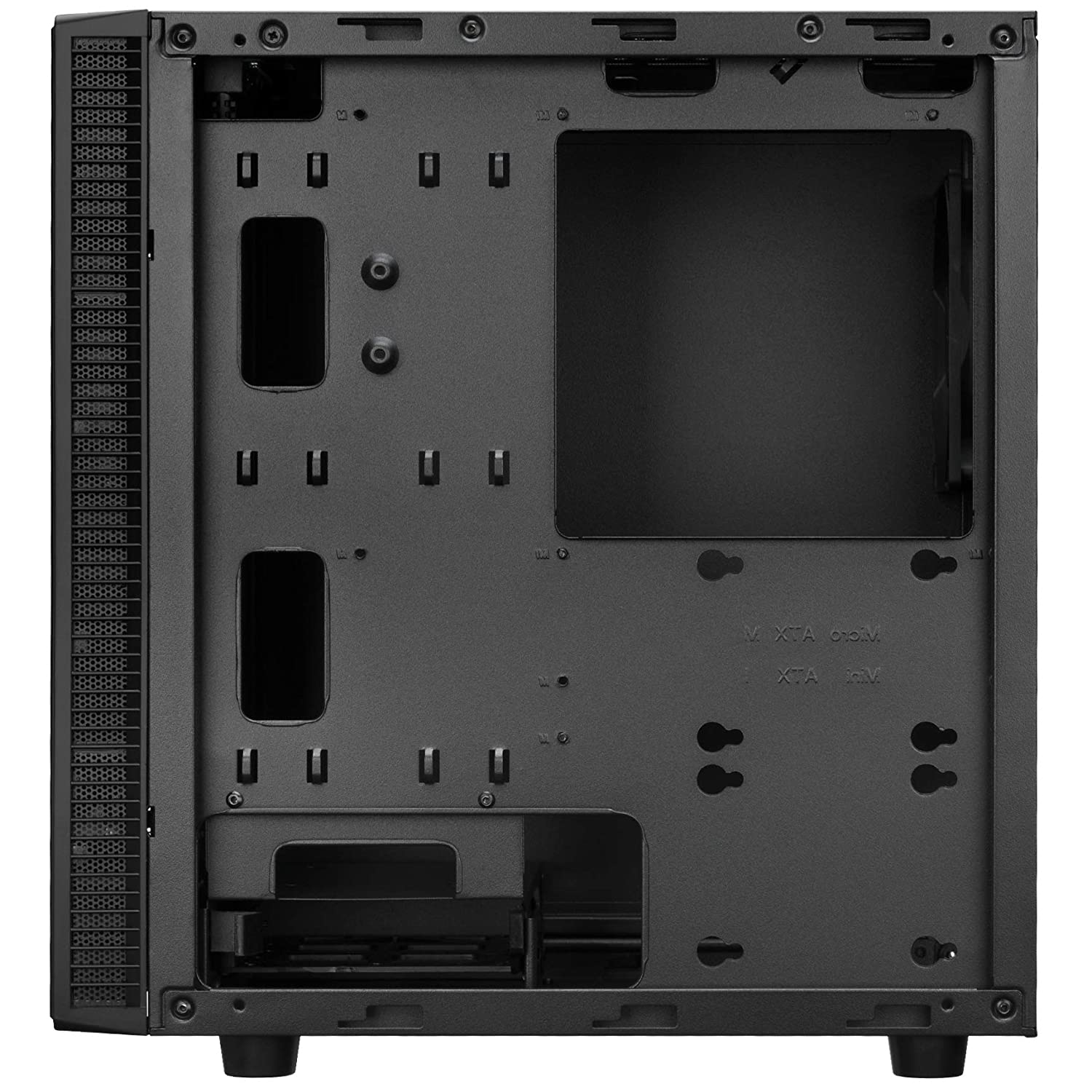 Amazon.com: Rosewill Micro ATX Mini Tower Computer Case, Sleek and Simple Quiet Style Gaming Desktop PC, Front I/O USB 3.0, 240mm Radiator Support - FBM-X2: ...