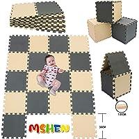 MHEHN 18 tabletas Alfombra Puzzle Bebe/Alfombra Infantil/Puzzle Suelo