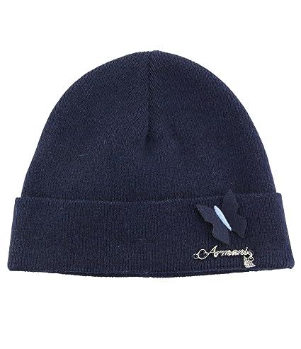 eccezionale gamma di stili autentico ultimo stile Armani junior cappello/cappellino neonato 3/9m: Amazon.it ...