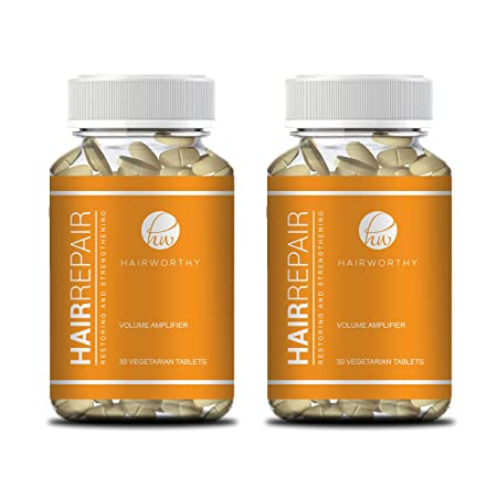 Amazon.com: Hairworthy Hairrepair Tablets - Healthier, Fuller & More Volume. Brewers Yeast and Biotin for Fast & NOTICEABLE Results.