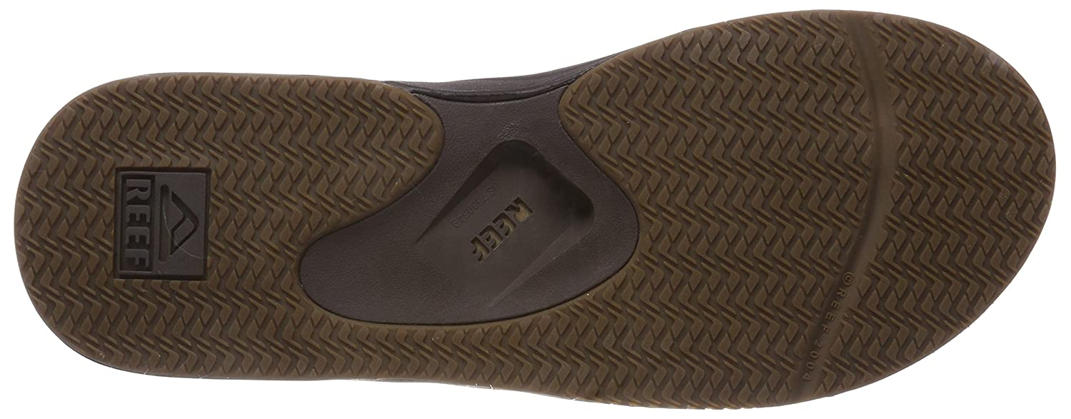 1070c0c745bdce Amazon.com  Reef Men s Leather Fanning Sandal  Shoes