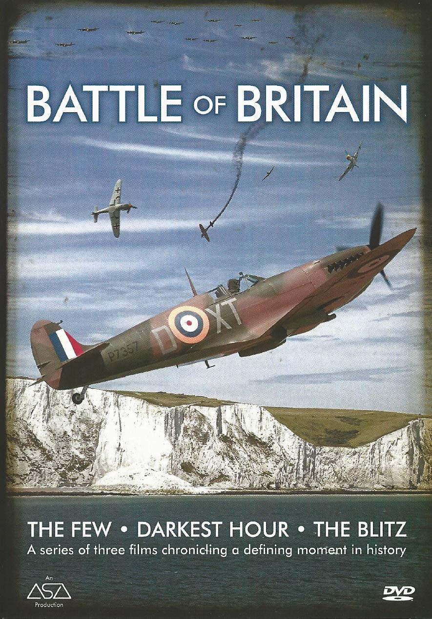 Battle of Britain 3 Documentaries The Few / Darkest Hour / The Blitz DVD Reino Unido: Amazon.es: Cine y Series TV