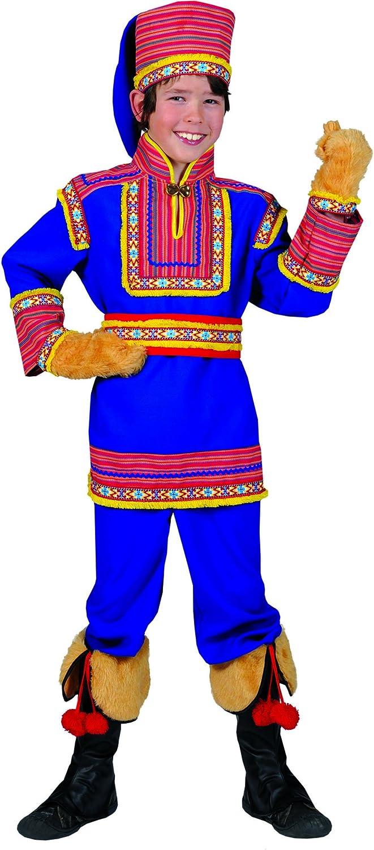 Disfraz ruso azul niño - De 8 a 10 años: Amazon.es: Juguetes y juegos
