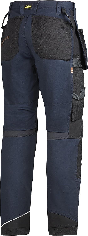 6202 Snickers Workwear Pantaloni da lavoro RuffWork plus con HP nero