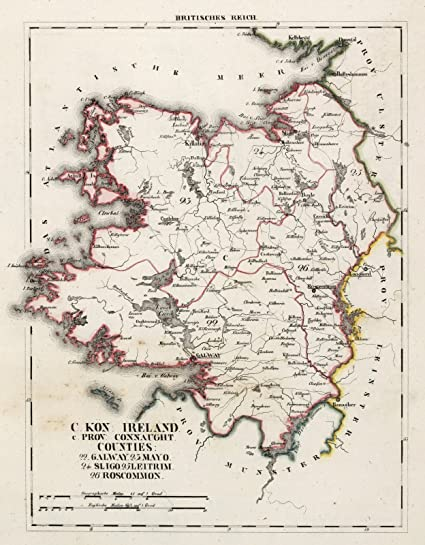 Map Of Ireland 26 Counties.Amazon Com Historic Pictoric 1830 National Atlas V 3 11 15 Xv