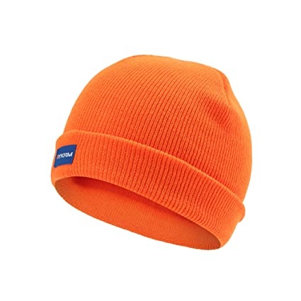 7a1acc426a2 Image Unavailable. Image not available for. Colour  Coloured Hi Visibility  Hat Beanie ...