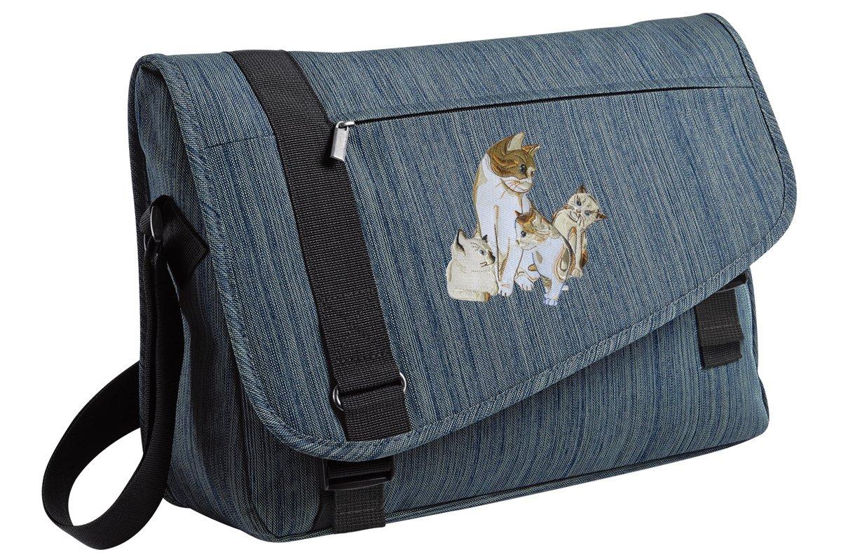 095b01e8106d Amazon.com: Cute Cat Messenger Bag STYLISH Kitten Laptop Bags: Broad ...