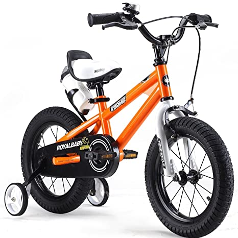 Y Y Toy Store On Line R 3556 Cm 14bmx Freestyle Per Bici Per Bambini Colore Rosso Verde Blu E Bianco Regolabile Resistente Con