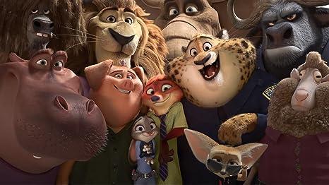 Posterhouzz Movie Zootopia Judy Hopps Nick Wilde Hd