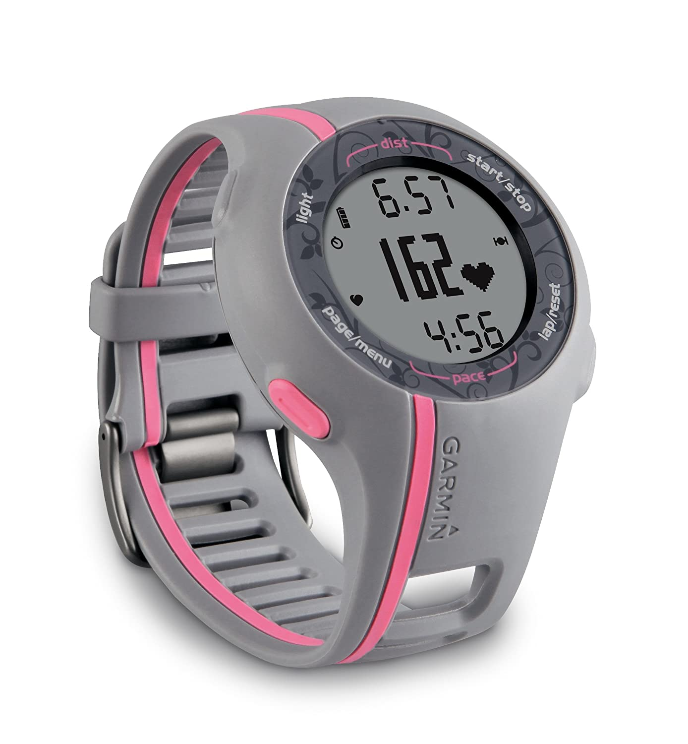 Amazon.com: Garmin Forerunner 110W GPS enabled Sports Watch with HRM (Pink)  (Discontinued by Manufacturer): Home Audio & Theater