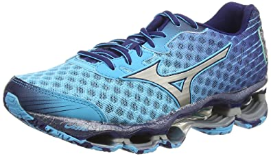 f8ab6baeffb8 Mizuno Wave Prophecy 4 (W), Women's Running Shoes, Blue (Blue Atoll ...