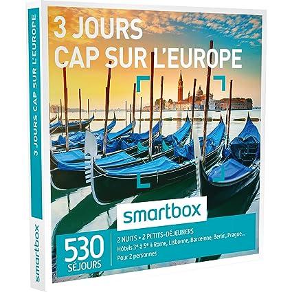 Smartbox – Caja Regalo – Cap sobre Europa – 3 días – 530 séjours: Hoteles