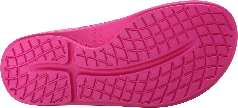 Oofos Ooriginal Thong, Sandalias Atléticas para Mujer Rosa Fuchsia