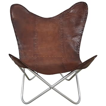 Indoortrend.com Butterfly Chair Sessel Design Lounge Stuhl Glatt ...
