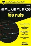 HTML, XHTML et CSS pour les Nuls poche, 4e édition