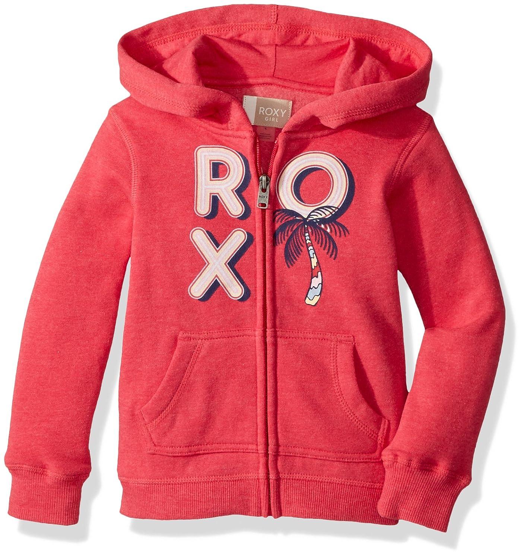 Roxy Girl s Autumn Wind Zip Hooded Sweatshirt Amazon Clothing