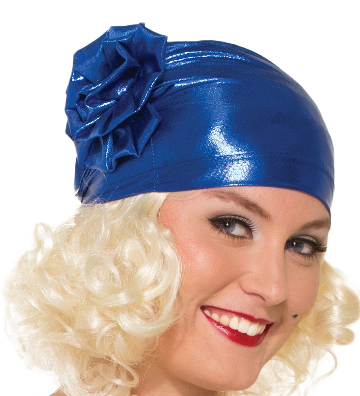 Forum Novelties Womens Novelty Adult Turban Cloche Hat, Blue, One ...
