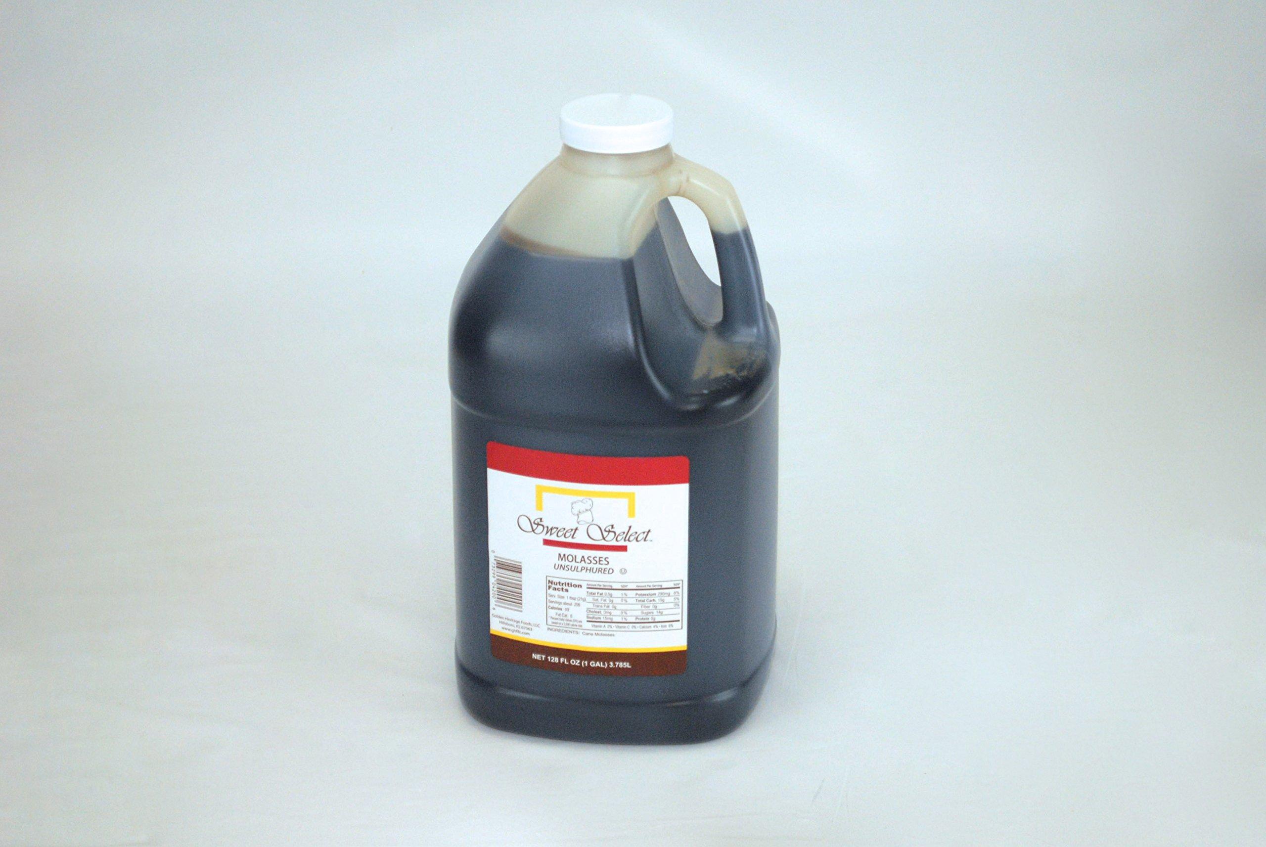 Sweet Select Unsulphured Molasses, 1 gal. (4 Count)