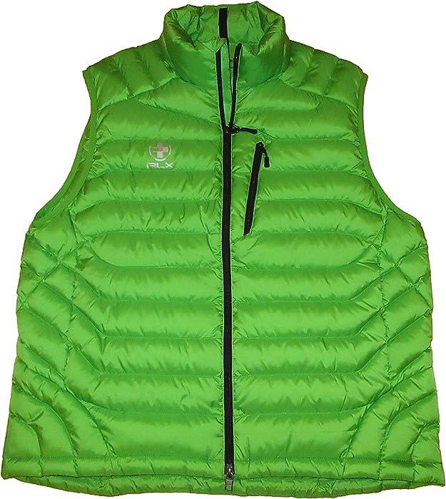 8f4d45074 RALPH LAUREN RLX Mens Water Resistant Quilted Down Vest Green (X ...