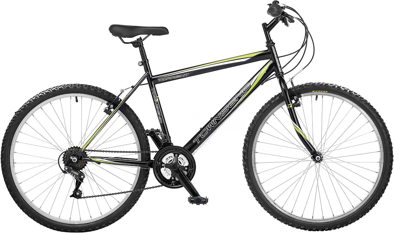 Townsend Torrent - Bicicleta para Hombre, tamaño 26, Color Negro/Verde: Amazon.es: Deportes y aire libre