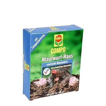 Compo Maulwurf Raus Naturliches Vertreibe Und Fernhaltemittel