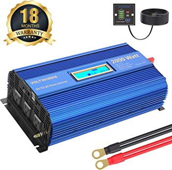 VOLTWORKS Power Inverter 2000Watt DC