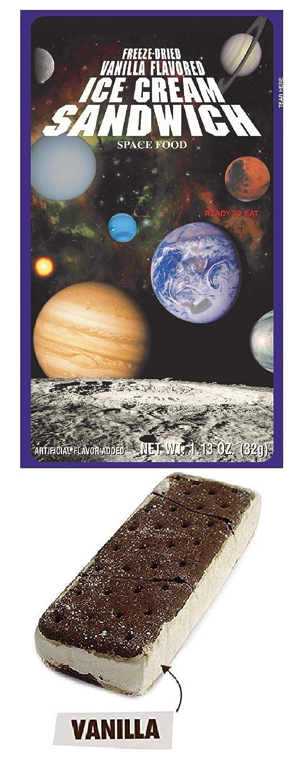 LuvyDuvy Freeze-Dried Vanilla Ice Cream Sandwich - 1 Pack