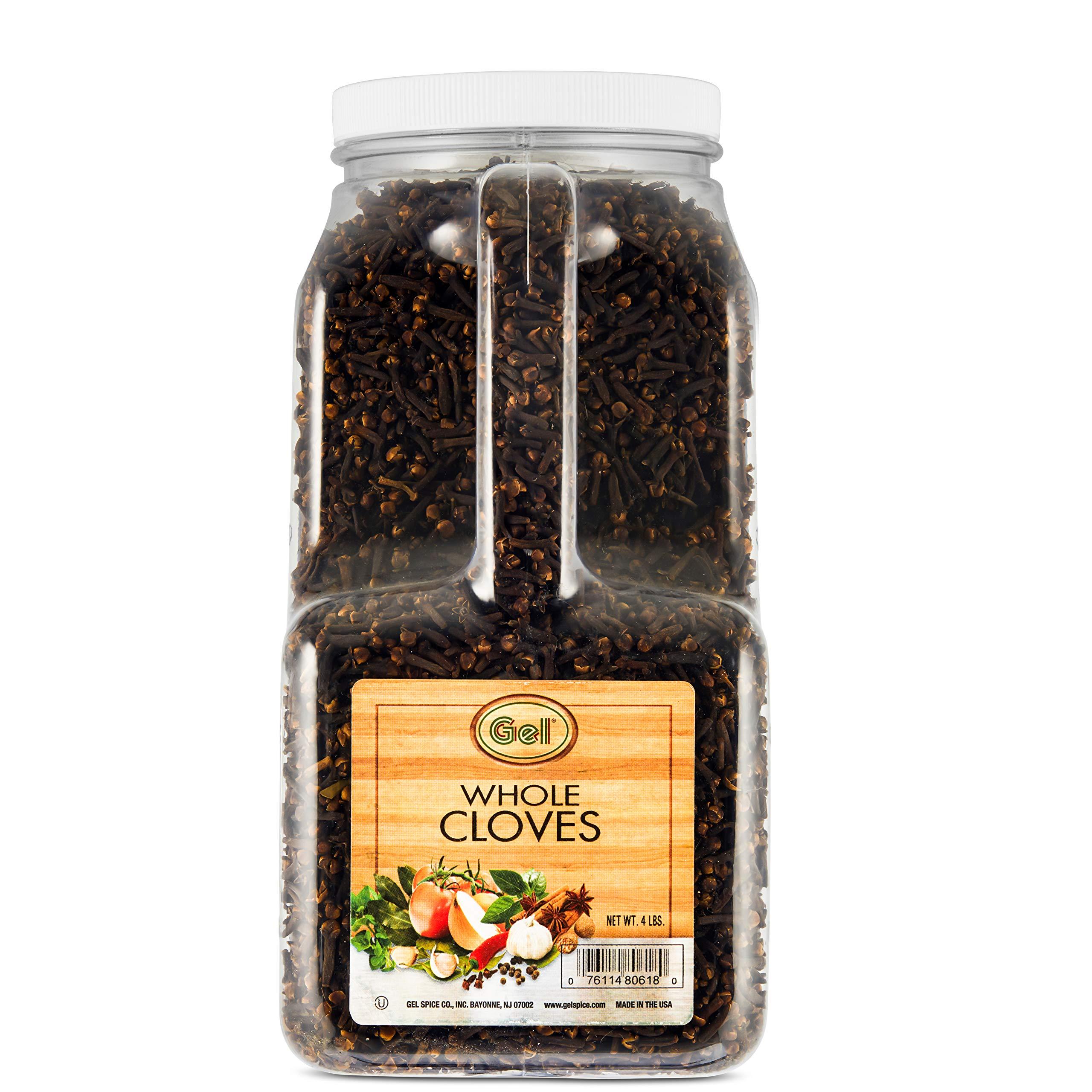 Gel Spice Whole Cloves Food Service Size -4 lb