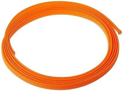 Marvelous Amazon Com Keep It Clean 13422 Wire Loom 3 8 Orange Ultra Wrap Wiring Cloud Mangdienstapotheekhoekschewaardnl