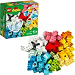 LEGO DUPLO Classic Heart Box 10909 First Building Playset and Learning