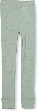 NAME IT Nmmwang Wool Needle Longjoh Noos XX Pantaln para Niños
