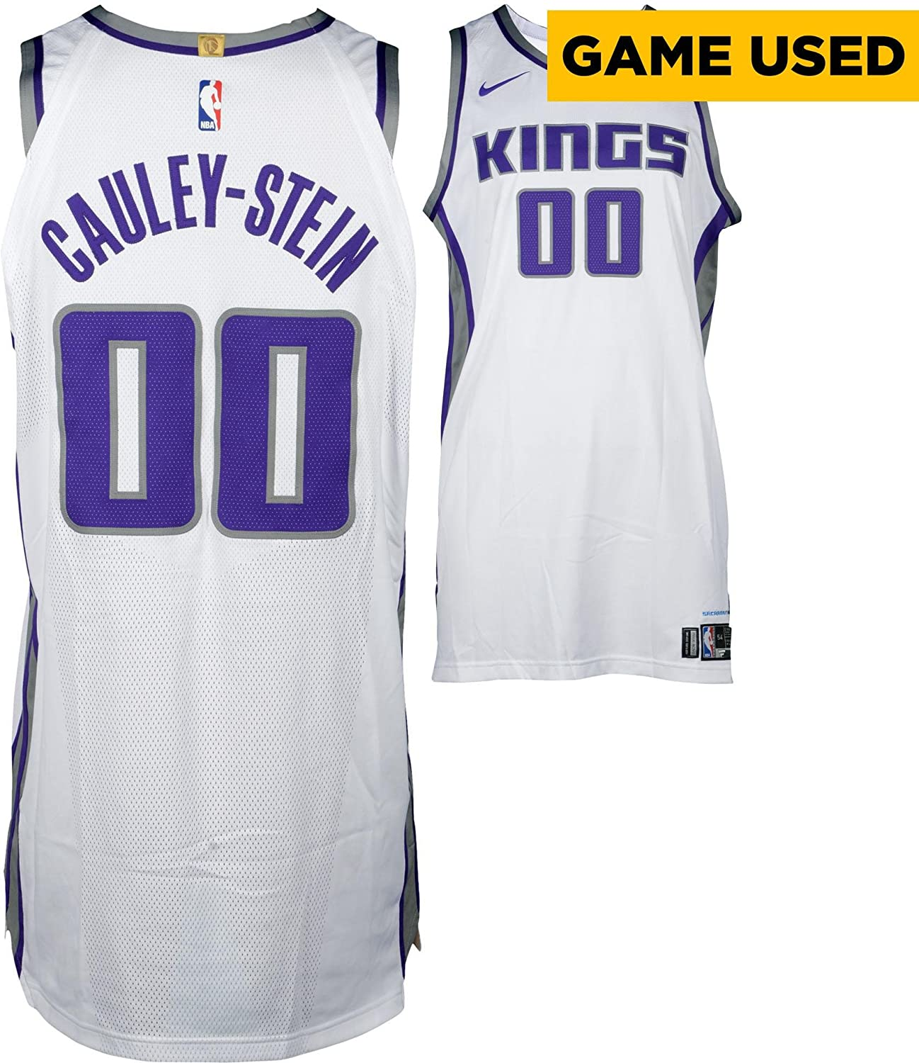 c6819437 Willie Cauley-Stein Sacramento Kings Game-Used #00 White Jersey vs. Dallas  Mavericks on March 27, 2018 - Size 54+6 - Fanatics Authentic Certified at  ...